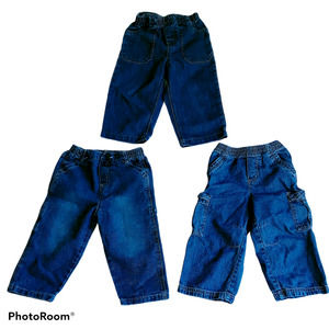 Various Brands Boys Size 24M Lot of Jeans